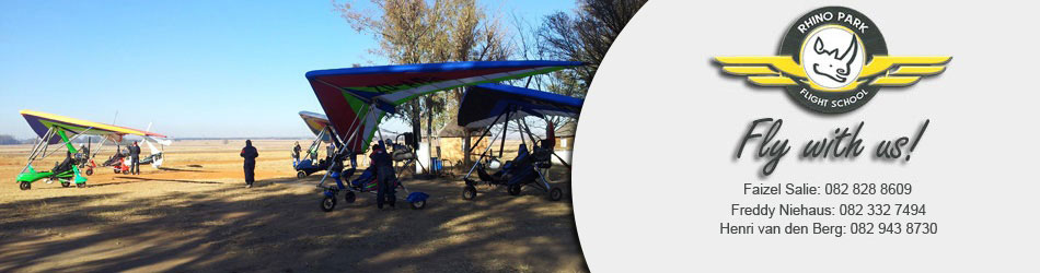 Microlight Excursions from Rhino Park